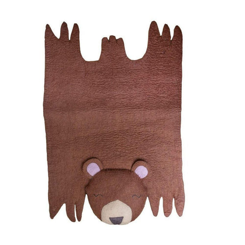 Gift Ideas -  Nursery + Decor Children's Bear Felt Rug