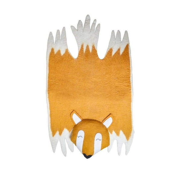 Gift Ideas -  Nursery + Decor Children's Fox Felt Rug