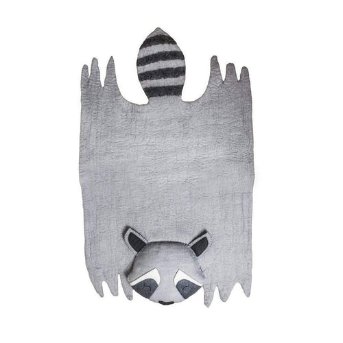 Gift Ideas -  Nursery + Decor Children's Raccoon Felt Rug