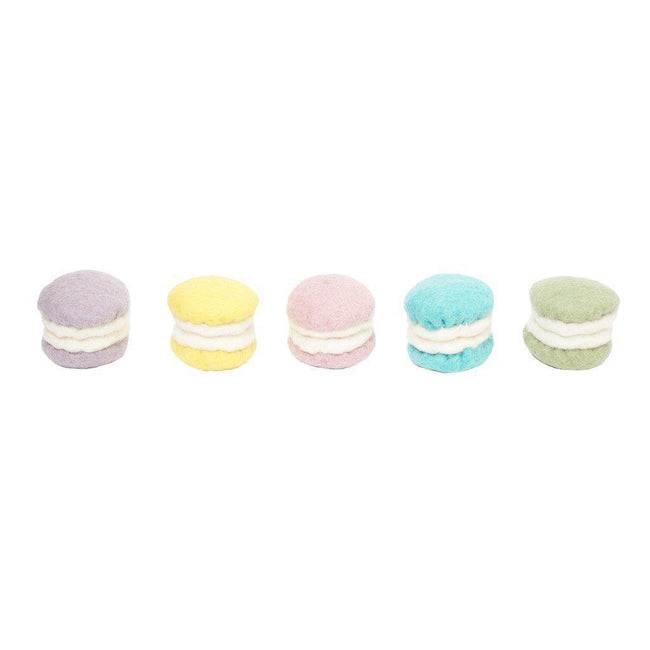 Gift Ideas -  Pretend + Dress Up Felt Macarons Play Set