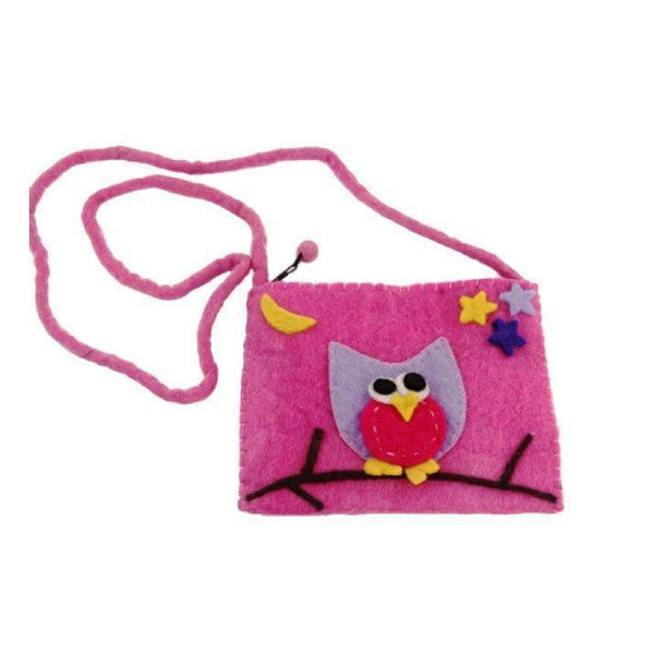 Gift Ideas -  Pretend + Dress Up Owl Felt Purse