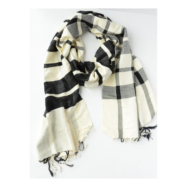 Gift Ideas -  Scarves + Wraps Cais Checkered Scarf