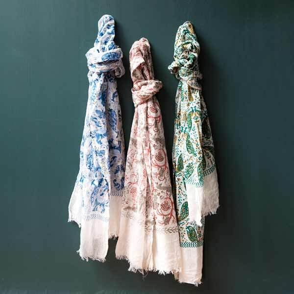 Gift Ideas -  Scarves + Wraps Fauna Scarf - Brama Woodlands