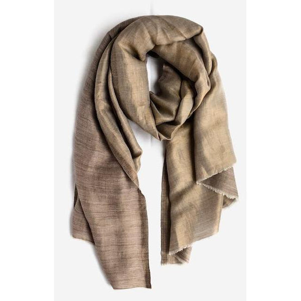 Gift Ideas -  Scarves + Wraps Zari Silk Scarf in Gold