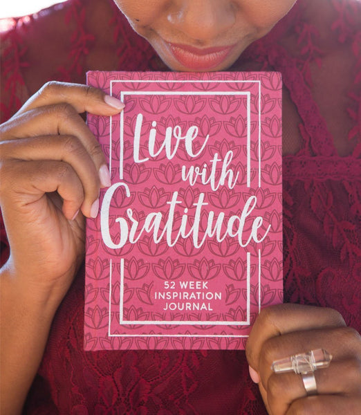 Gift Ideas -  Stationery + Office 52-week Inspirational Journal - Gratitude