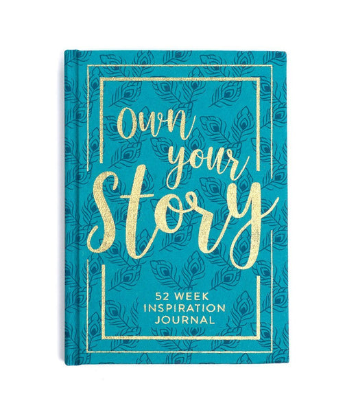 Gift Ideas -  Stationery + Office 52-week Inspirational Journal - Your Story