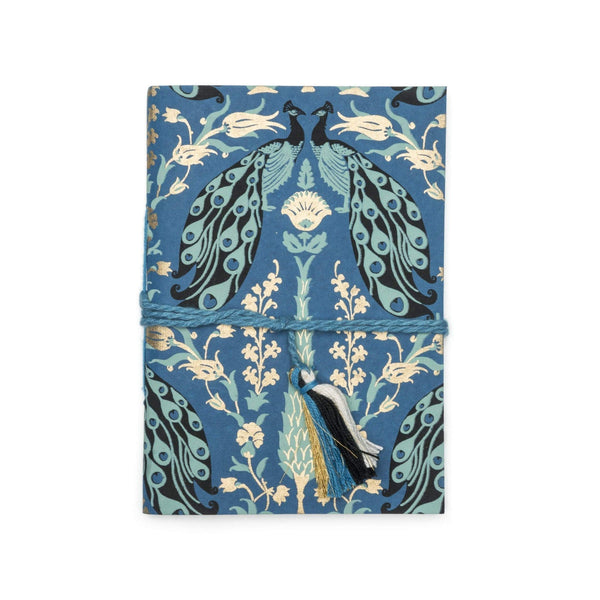 Gift Ideas -  Stationery + Office Fauna Journal - Blue Peacock