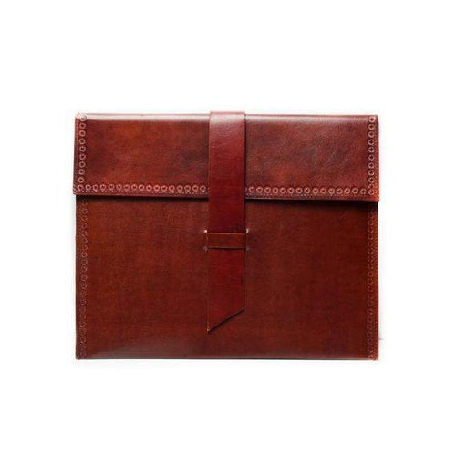 Gift Ideas -  Stationery + Office Sustainable Leather iPad Case - Sable