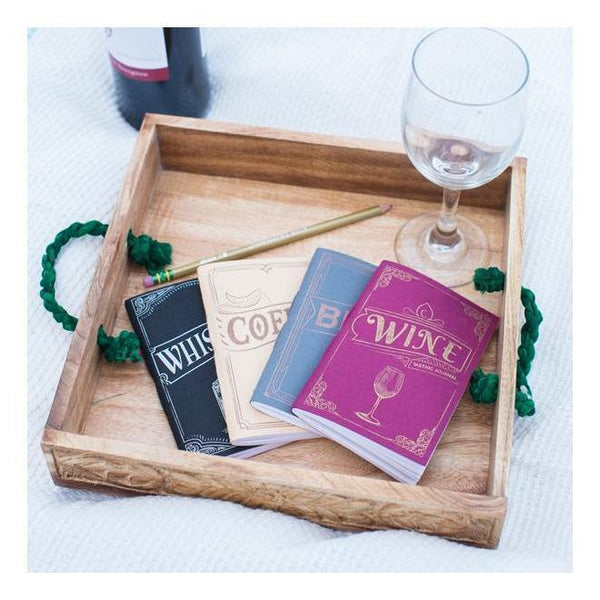 Gift Ideas -  Stationery + Office Tasting Journals - Wine, Beer, Whiskey, and Coffee