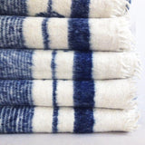 Gift Ideas -  Throws + Pillows Momos Handwoven Brushed Wool Blanket