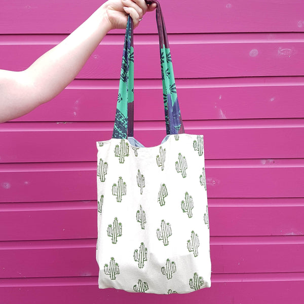 Gift Ideas -  Totes + Shopping Bags Cactus Tote Bag