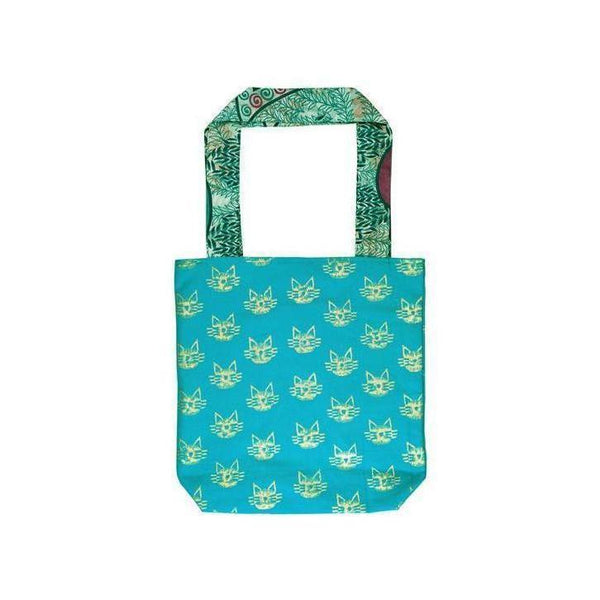 Gift Ideas -  Totes + Shopping Bags Metallic Tote Bag - Cats