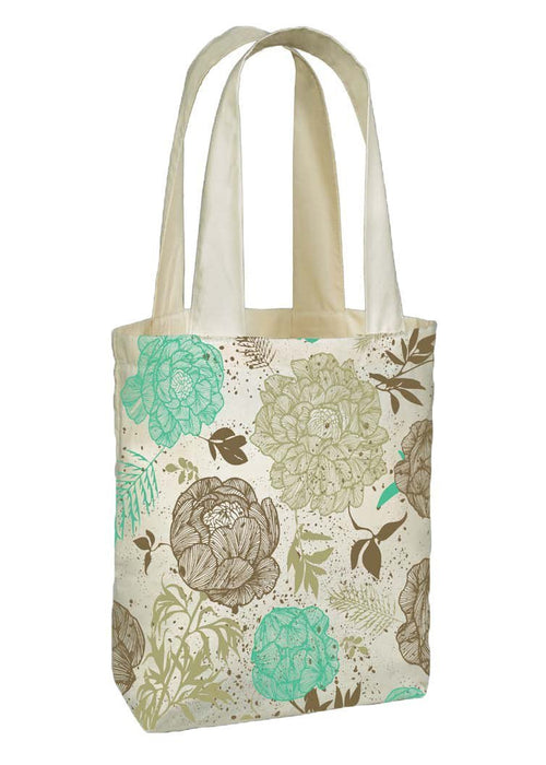 Gift Ideas -  Totes + Shopping Bags Organic Cotton Flirty Floral Tote