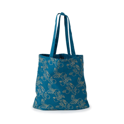 Gift Ideas -  Totes + Shopping Bags Organic Cotton Metallic Vineyard Tote