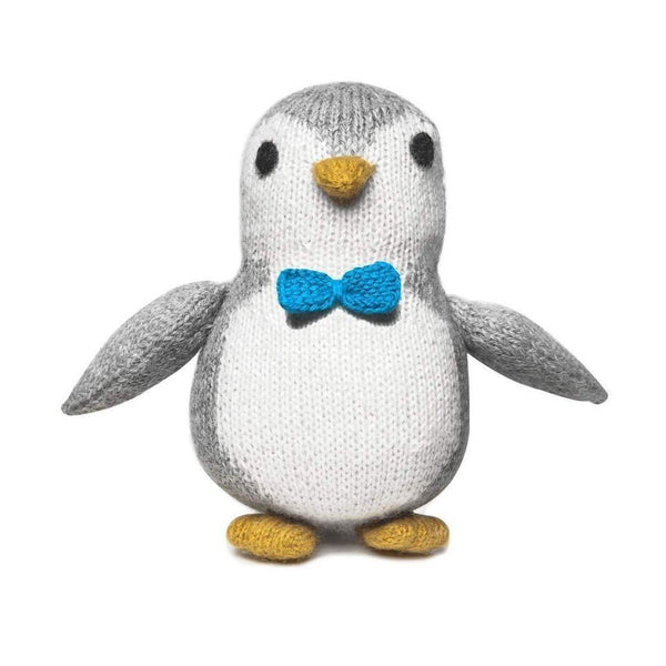 Gift Ideas -  Toys + Plush Knit Alpaca Penguin - Mr. Waddles