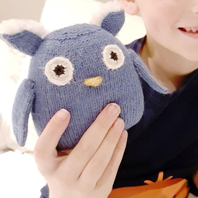 Gift Ideas -  Toys + Plush Mini Alpaca Owl - Mr. Hoot