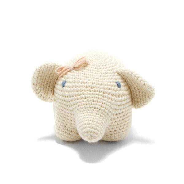 Gift Ideas -  Toys + Plush Organic Cotton Elephant - Ellie the Elephant