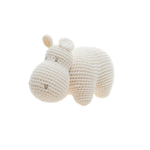 Gift Ideas -  Toys + Plush Organic Cotton Hippo - Hank the Hippo