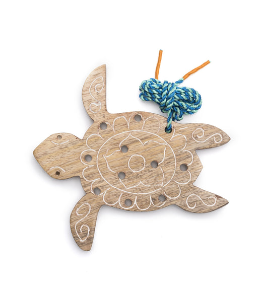 Gift Ideas -  Toys + Plush Wooden Lacy Turtle