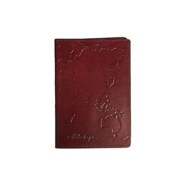 Gift Ideas -  Travel + Organization Globetrotter Passport Cover - Brown Leather