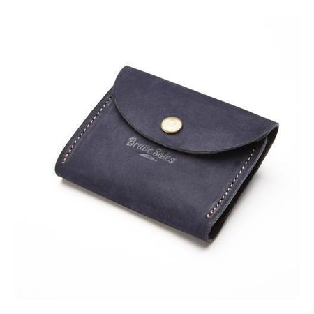 The Paola Scallop Leather Clutch