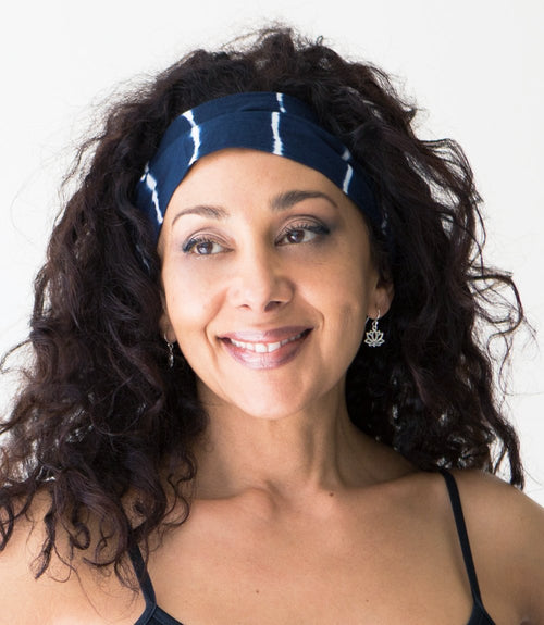Gift Ideas -  Yoga + Lifestyle Shibori Headband