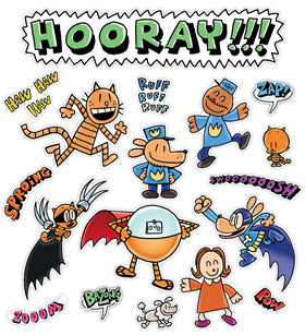 Dog Man Character Fun Bulletin Board Set