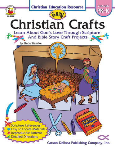 Easy Christian Crafts P-K Bk