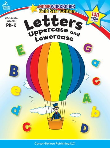Letters Uppercase & Lowercase Wo