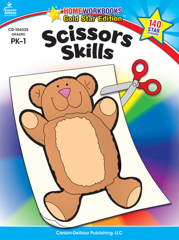 Scissors Skills Workbook