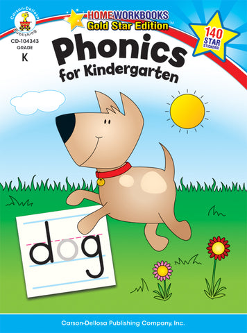 Phonics For Kindergarten Workboo