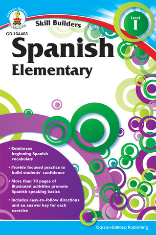 Spanish 1 Skill Builder Bk