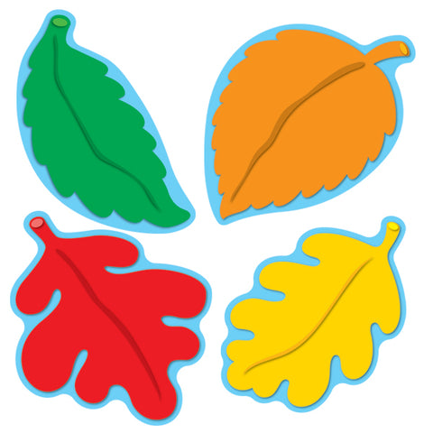 Leaves Colorful Cut-Outs