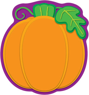 Pumpkin Colorful Cut-Outs