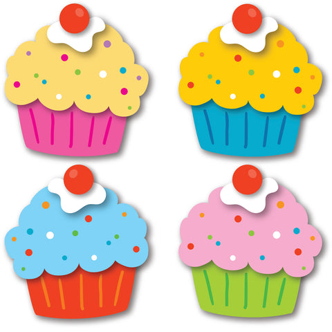 Cupcakes Mini Cut-Outs