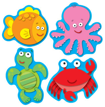 Sea Life Shape Stickers