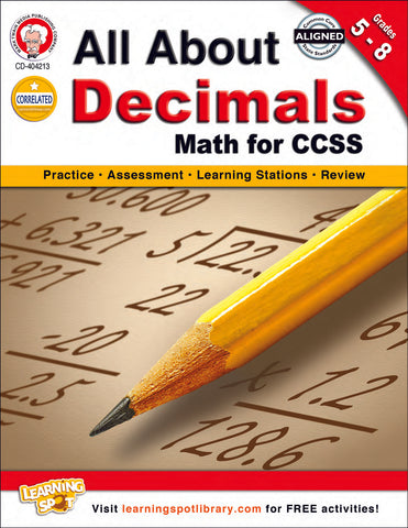 All About Decimals Bk