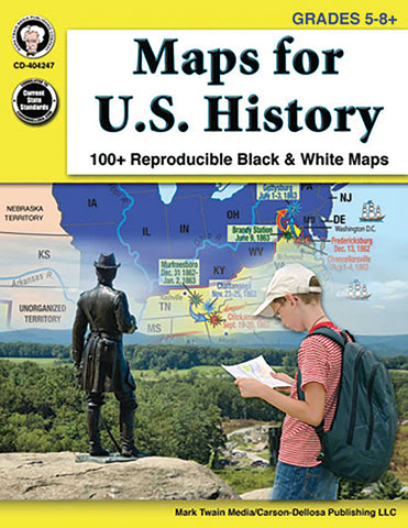 Maps For Us History Bk
