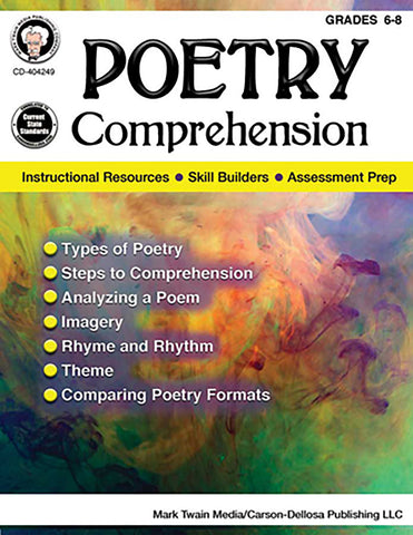 Poetry Comprehension Bk
