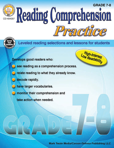 Reading Comprehension Practice 7