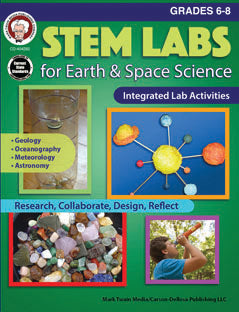 Stem Labs For Earth & Space Bk