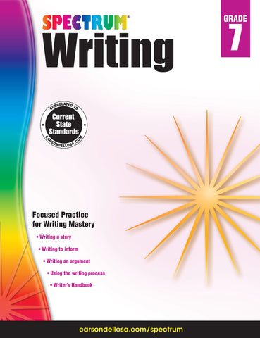 Spectrum Writing 7 Workbook
