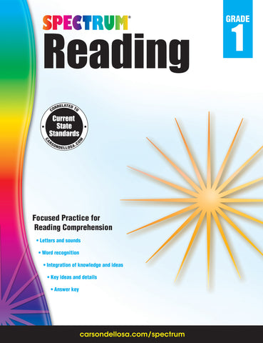 Spectrum Reading 1 Workbook