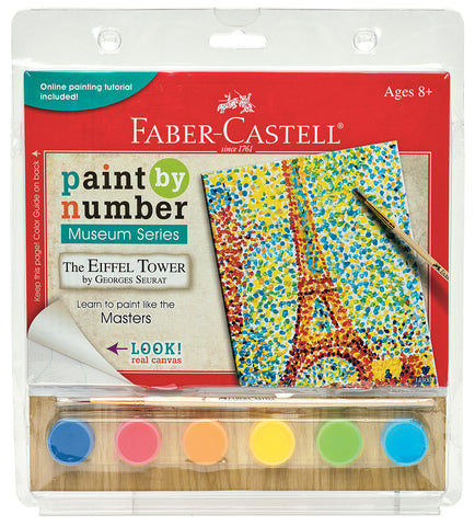 Paint By Number Eiffel Tower