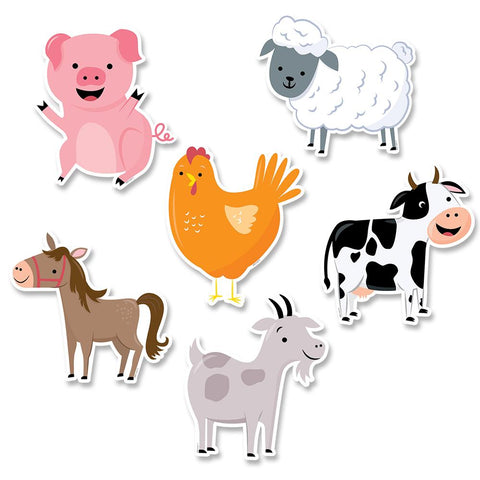 Farm Friends Cut Outs