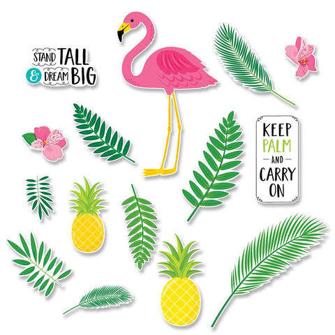 Flamingo Fun Palm Bb Set