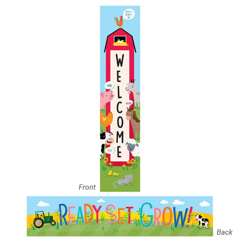 Welcome Farm Friends Banner