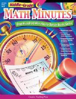 Middle Grade Math Minutes Bk