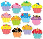 Cupcakes Jumbo Cut-Outs
