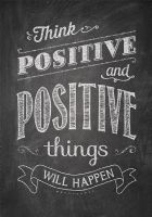 Think Positive And Positive Post